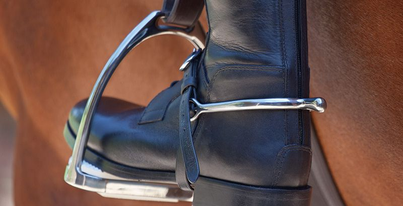 ROLLER BALL SPURS BLUE GOLD HORSE AND RIDER SPURS TODD BALL SPURS FREE P/&P